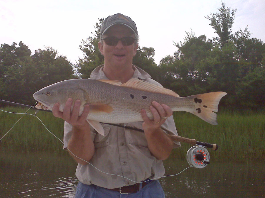 Shorethangcharters with capt mark phelps in shore for Fly fishing south carolina